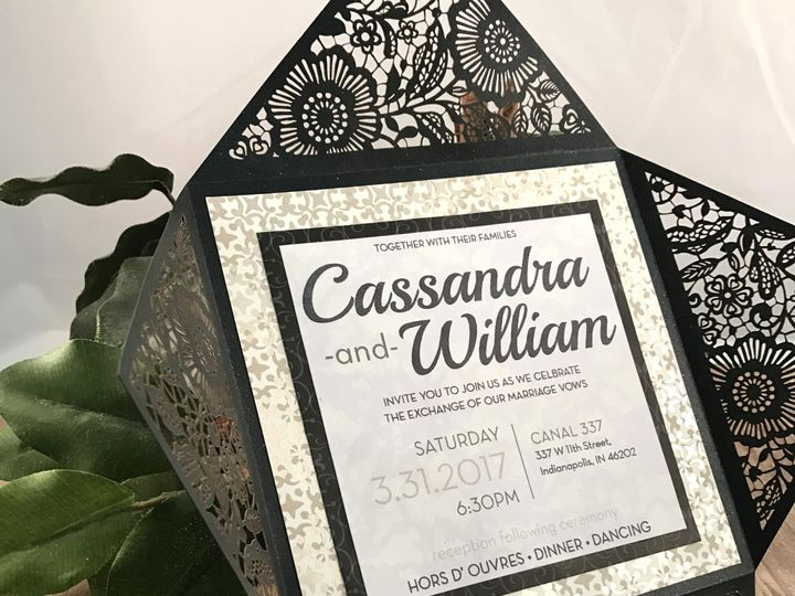 Tmx 1479689271681 Cassie And Will Indianapolis wedding invitation
