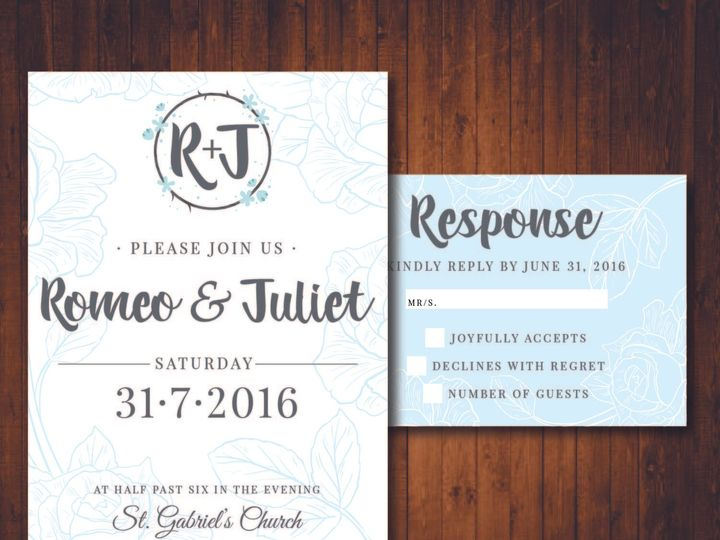Tmx 1481214339677 Delicate Sky Indianapolis wedding invitation