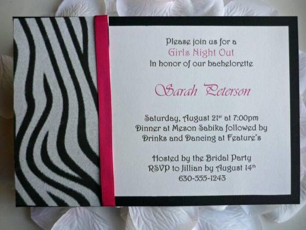 Wild Thing Invitation