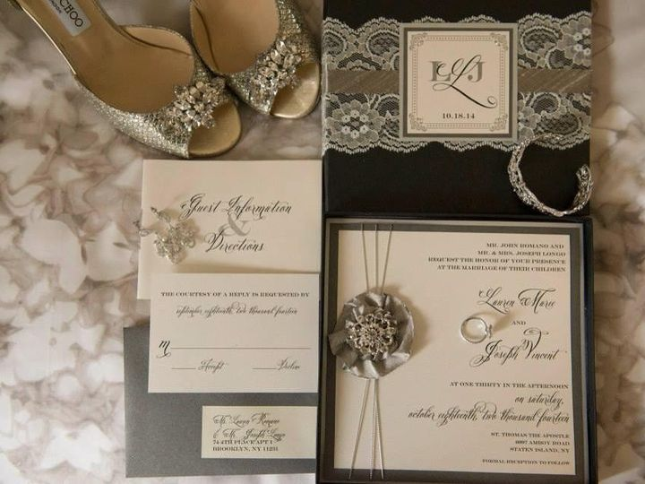 Tmx 1484166276837 110387967824235118285496452656148686209817n Brooklyn, NY wedding invitation