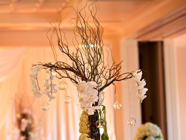 Tmx 1391183098662 Orchid Garland Tree With Candle West Bloomfield wedding florist
