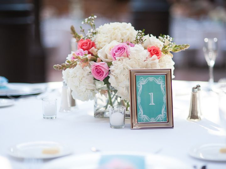 Tmx 1403289989619 Low Centerpiece Wedding West Bloomfield wedding florist