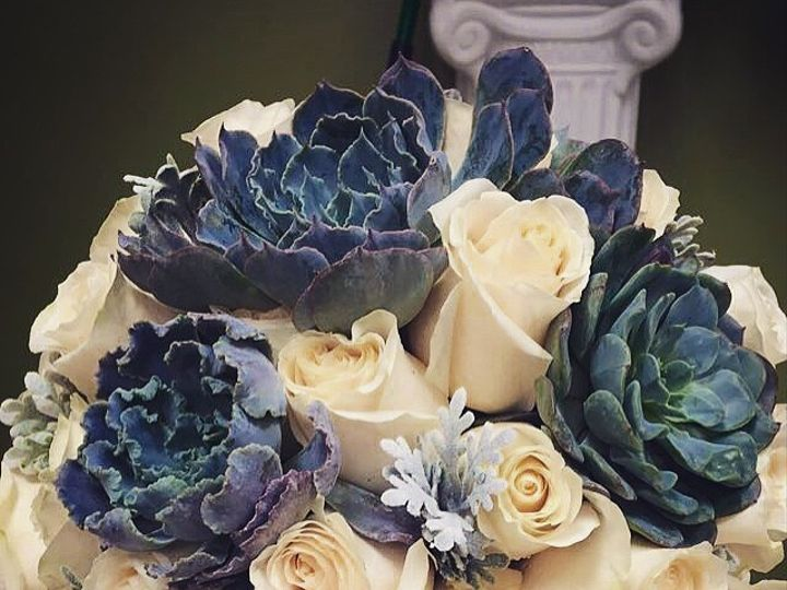 Tmx 1422399488628 Succulant Boquet West Bloomfield wedding florist