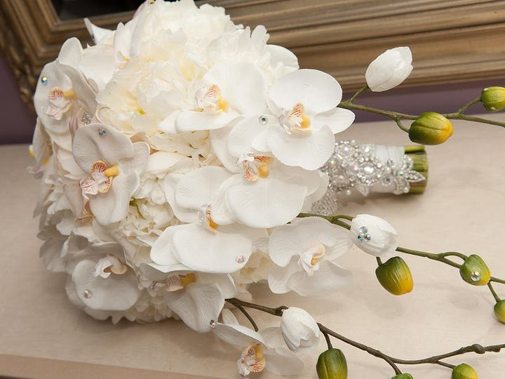 Tmx 1422399492771 Orchid Bouquet West Bloomfield wedding florist