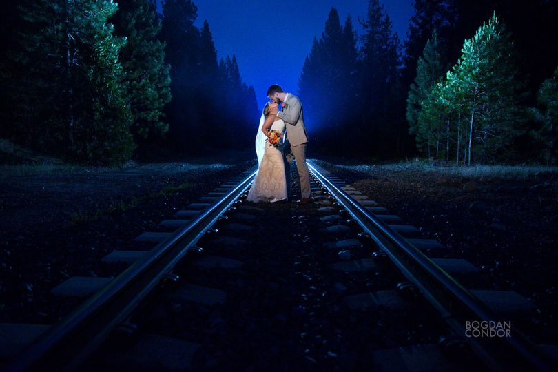 Train tracks kiss