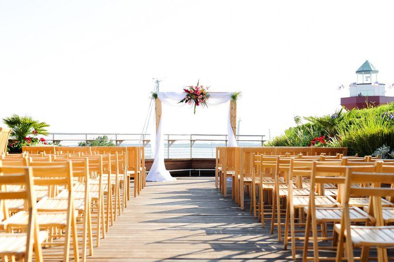 Rooftop Veranda Ceremony