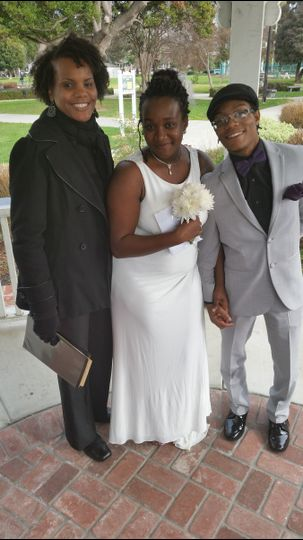 ebony wedding