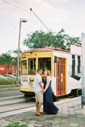 tampa wedding photographerybor city engagementwedd