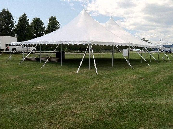 40x60pole tent