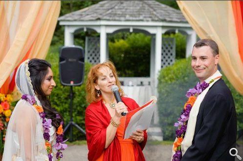 Hybrid Indian-Irish wedding