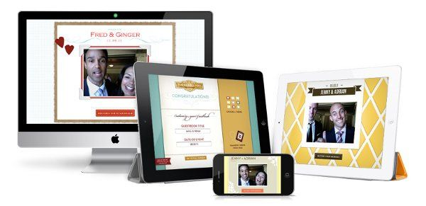 Thrilled for You Video Guestbook - for the Mac, iPad2, iPod Touch & iPhones. www.thrilledforyou.com
