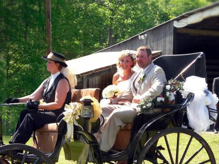 Tmx 1315541294330 BrandiButlerWedding2copy Charles City, VA wedding transportation