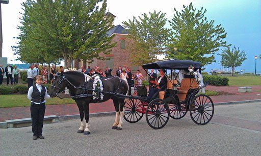 Tmx 1315541312317 AtYorktownRekrutWeddingArrivalsInElegance Charles City, VA wedding transportation