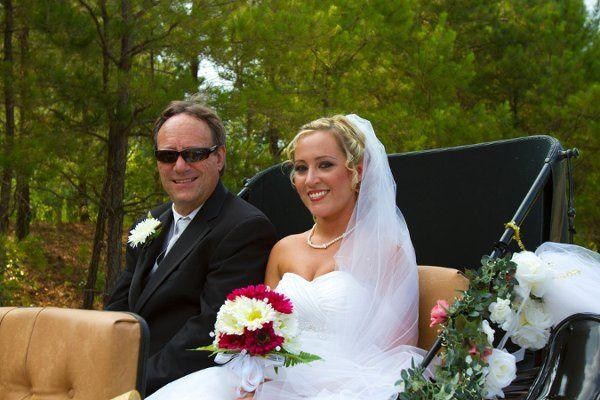 Tmx 1315542007938 RobbieandDawnWeddingCarriage6 Charles City, VA wedding transportation