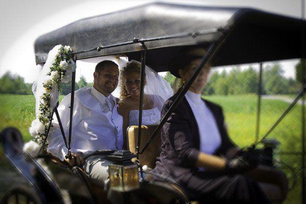 Tmx 1315543379274 AshleyBrownAndrewJohnsonWeddingbyTerriAigner Charles City, VA wedding transportation