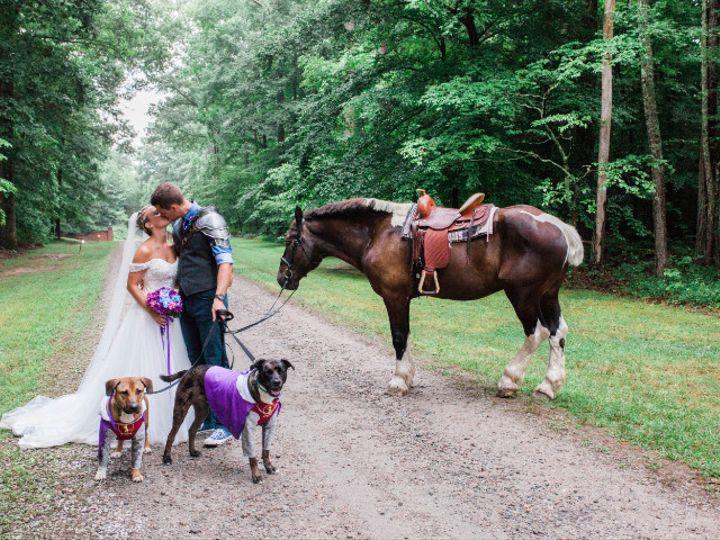 Tmx 1505141839234 Medieval Wedding Dimples And Cheeks Photography 5 Charles City, VA wedding transportation