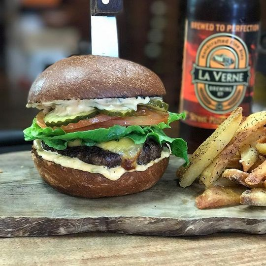 Our gourmet handmade burgers are the best!