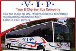 VIP Tour & Charter Bus Company image