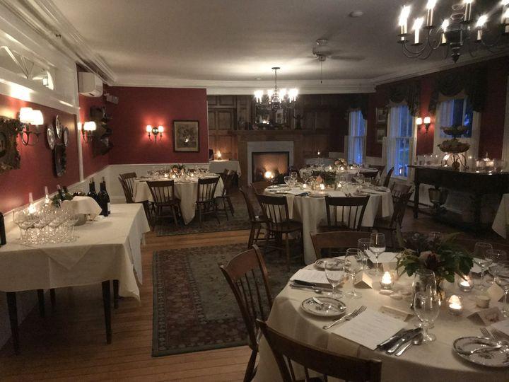 The Dorset Inn Red Dining Room