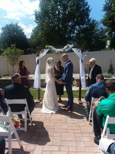 Garden Wedding, Camp Hill, PA