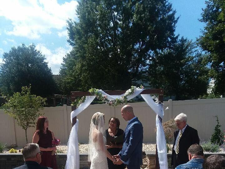 Tmx Jesse And Michel Garden Wedding 51 456264 161358051041727 Harrisburg, PA wedding officiant