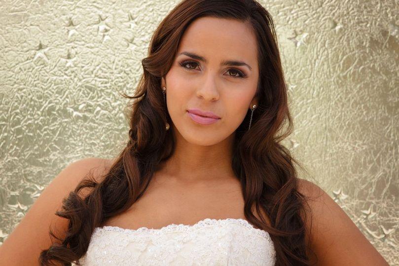Babydoll Weddings Wedding Makeup Airbrush Hair Updo Or Style