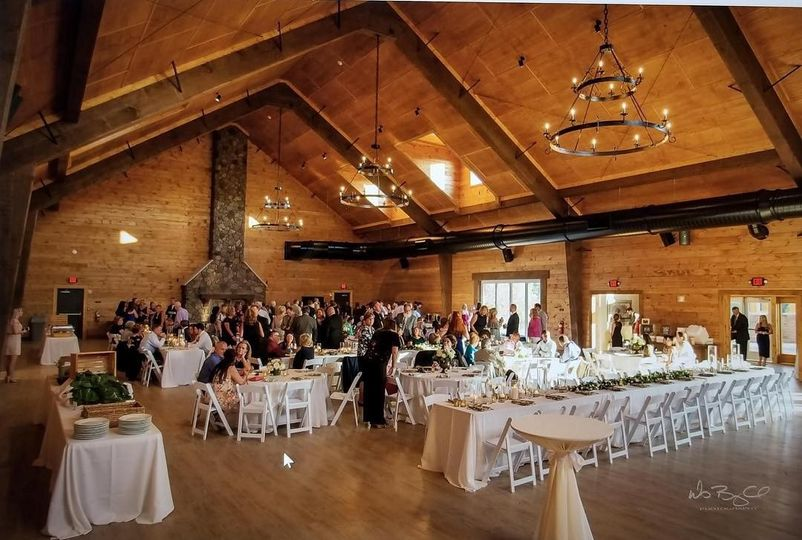 Lodge Wedding Reception