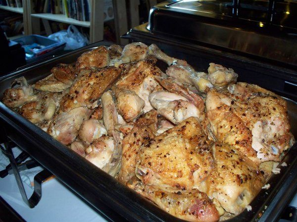 MarketPlace Catering by Crazy Bob's Foods Baked Chicken