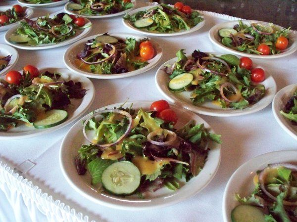 MarketPlace Catering by Crazy Bob's Foods.  Fresh Garden Salad.