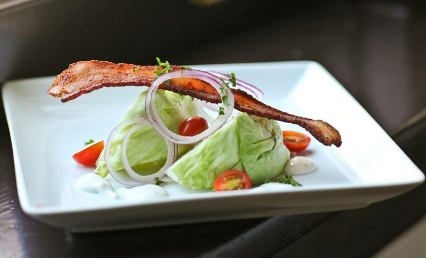 360 Catering and Events - Wedge Salad! Gotta have Bacon!