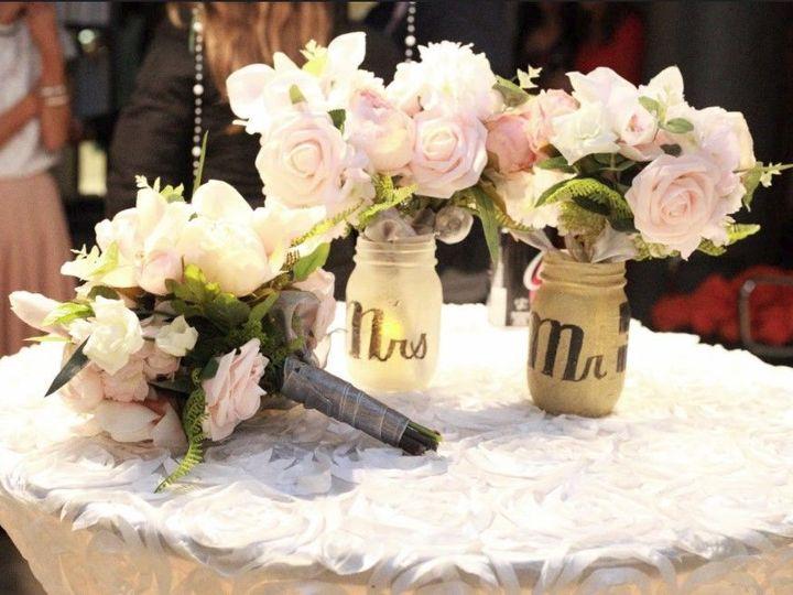 Tmx 1525021649 65abc60032295b33 1525021648 D8a95c28ff849248 1525021647696 108 Centerpiece Bouq Saco wedding planner