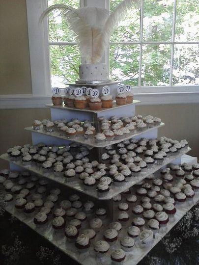 cupcakewedding