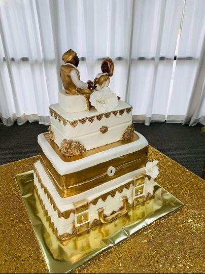 Nigerian traditional cake