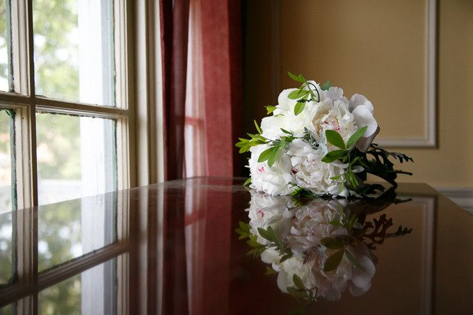 White Peonies!  Photo credit goes to Nadra Photography