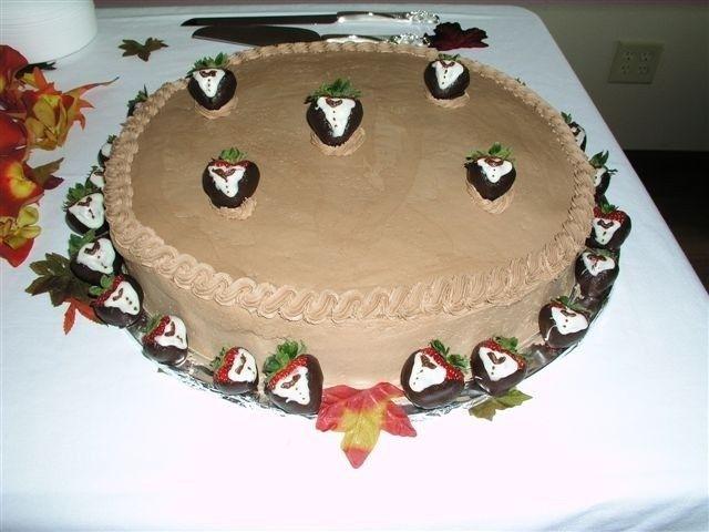Tmx 1458832485541 Tuxedo Strawberries W Cake2 Muscatine, IA wedding catering