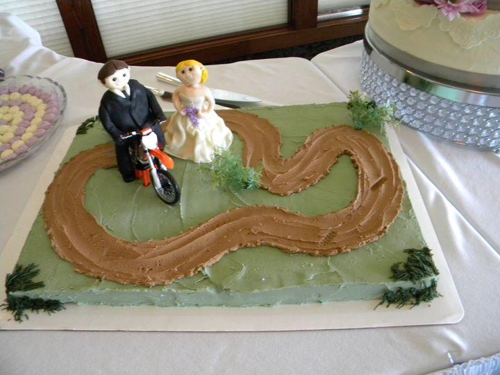 Tmx 1458832744281 Schmitt Sulzberger Grooms Cake Wtih Fondant Figuri Muscatine, IA wedding catering