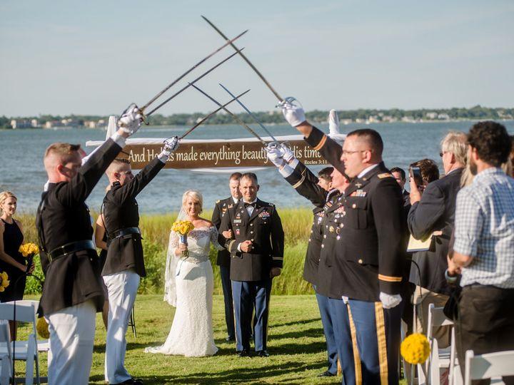 Tmx 1449681877486 Snowden Steph Military Salute Cornelius, North Carolina wedding dress