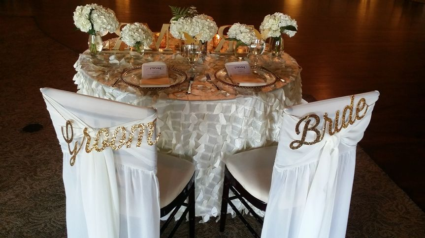 Sweet head table