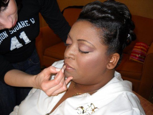 Dionne's Wedding Makeup Feb '10