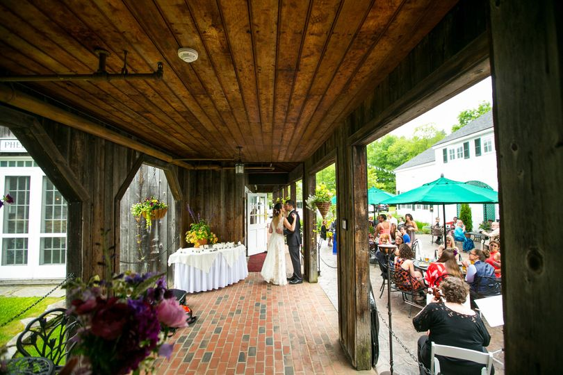 Following the ceremony, guests will enjoy cocktail hour at Phelps Barn and the Courtyard.
