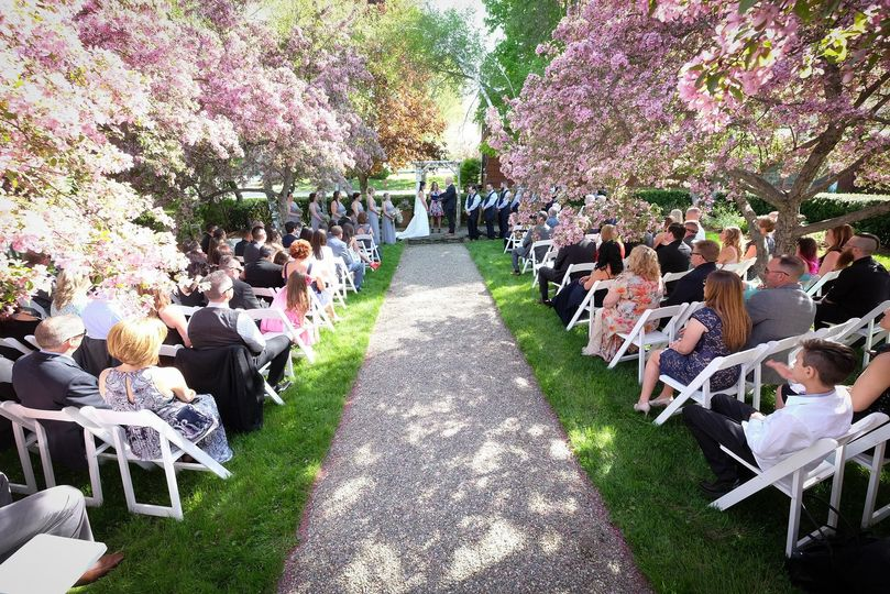 Choose from one of several indoor and outdoor ceremony sites across our property.  The Community...