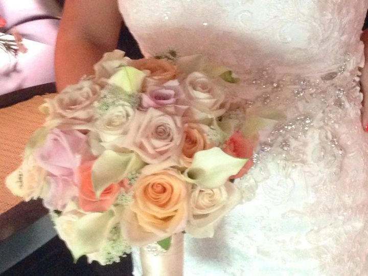 Tmx 1414008834160 Blushbqtcrop Willow Grove, Pennsylvania wedding florist