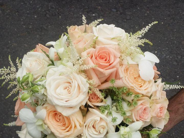 Tmx 1414008915859 Peachwhiteromantic Willow Grove, Pennsylvania wedding florist
