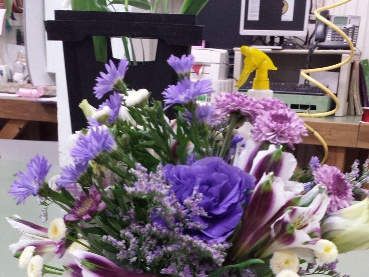 Tmx 1445373142067 Mason Jar With Purples Willow Grove, Pennsylvania wedding florist