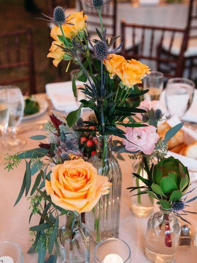 Tmx 1452033335575 Wbarleysheafbottlecpiece Willow Grove, Pennsylvania wedding florist