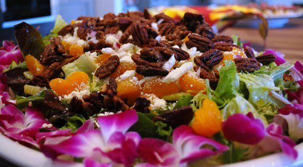 IVC Signature Passion Fruit Vinaigrette Mandarin Salad
