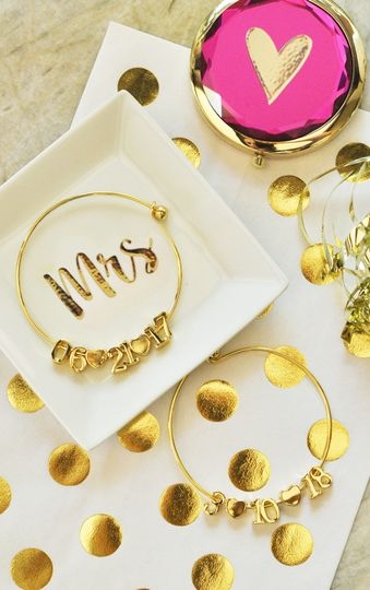 Date Bracelet & Ring Dishes