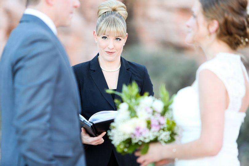 Wedding at Red Rock Canyon