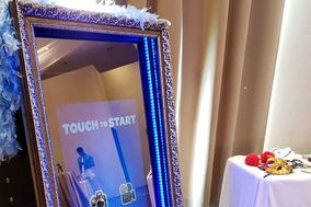 Magic Mirror Photo Booth Riviera Maya Cancun