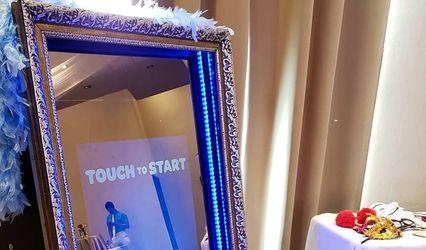 Magic Mirror Photo Booth Riviera Maya Cancun